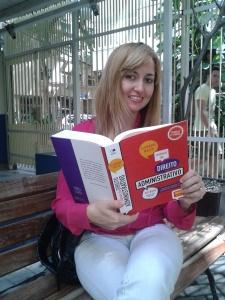 Ana Paula Antunes, estudante do QC