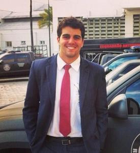 Aloysio Falcão, professor e delegado da Polícia Civil-RJ